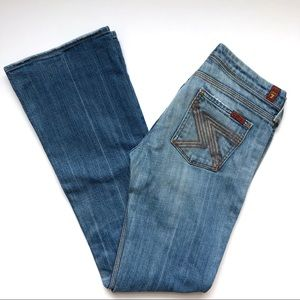 7 for All Mankind Flynt Boot Cut Jeans Size 26
